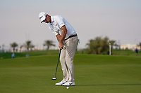 Nicolas Colsaerts (BEL) on the 11th during Round 1 of the Saudi International at the Royal Greens Golf and Country Club, King Abdullah Economic City, Saudi Arabia. 30/01/2020<br /> Picture: Golffile | Thos Caffrey<br /> <br /> <br /> All photo usage must carry mandatory copyright credit (© Golffile | Thos Caffrey)