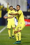 Villarreal CF's Roberto Soriano (l) and Victor Ruiz during La Liga match. December 3,2016. (ALTERPHOTOS/Acero)