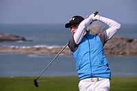 Jack Madden (Royal Portrush) during the final of the Irish Students Amateur Open Championship, Tralee Golf Club, Tralee, Co Kerry, Ireland. 12/04/2018.<br /> Picture: Golffile | Fran Caffrey<br /> <br /> <br /> All photo usage must carry mandatory copyright credit (&copy; Golffile | Fran Caffrey)
