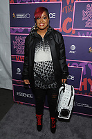 NEW YORK, NY - JANUARY 25: Rapsody at the Essence 9th annual Black Women in Music event at the Highline Ballroom on January 25, 2018 in New York City. Credit: John Palmer/MediaPunch
