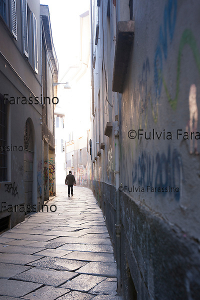 Milano, 5 marzo 2015 - <br /> Via Bagnera