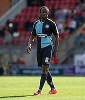 Marcus Bean of Wycombe Wanderers during the Sky Bet League 2 match between Leyton Orient and Wycombe Wanderers at the Matchroom Stadium, London, England on 19 September 2015. Photo by Andy Rowland.