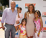 Melanie Brown & family at the Summit Entertainment L.A. Premiere of Furry Vengeance held at The Bruin Theatre in Westwood, California on April 18,2010                                                                   Copyright 2010  DVS / RockinExposures