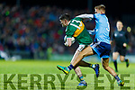 Paul Geaney Kerry in action against  Jonny Cooper Dublin during the Allianz Football League Division 1 Round 3 match between Kerry and Dublin at Austin Stack Park in Tralee, Kerry on Saturday night.