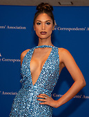Geena Rocero arrives for the 2019 White House Correspondents Association Annual Dinner at the Washington Hilton Hotel on Saturday, April 27, 2019.<br /> Credit: Ron Sachs / CNP<br /> <br /> (RESTRICTION: NO New York or New Jersey Newspapers or newspapers within a 75 mile radius of New York City)