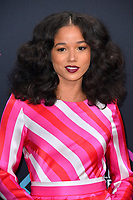 LOS ANGELES, CA. November 11, 2018: Alisha Wainwright at the E! People's Choice Awards 2018 at Barker Hangar, Santa Monica Airport.<br /> Picture: Paul Smith/Featureflash