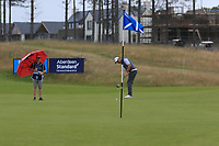 Padraig Harrington (IRL) on the 7th during Round 2 of the Aberdeen Standard Investments Scottish Open 2019 at The Renaissance Club, North Berwick, Scotland on Friday 12th July 2019.<br /> Picture:  Thos Caffrey / Golffile<br /> <br /> All photos usage must carry mandatory copyright credit (© Golffile | Thos Caffrey)