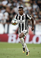 Calcio, Serie A: Torino, Allianz Stadium, 19 agosto 2017. <br /> Juventus' Alex Sandro in action during the Italian Serie A football match between Juventus and Cagliari at Torino's Allianz Stadium, August 19, 2017.<br /> UPDATE IMAGES PRESS/Isabella Bonotto