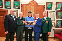 Robert Brazill (Naas) winner of the 2018 West of Ireland, in Co Sligo Golf Club, Rosses Point, Sligo, Co Sligo, Ireland. 03/04/2018.<br /> Picture: Golffile | Fran Caffrey<br /> <br /> <br /> All photo usage must carry mandatory copyright credit (&copy; Golffile | Fran Caffrey)