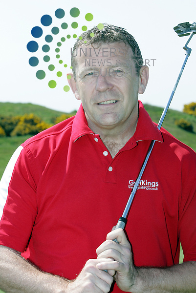 Andy Goram.Tommy Burns Masters golf fund raisin . tournament in aid of the Tommy Burns Skin Cancer Trust played over the Dundonald links. Picture: Universal News And Sport (Scotland) 25 May 2012.