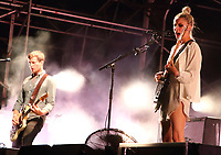 Wolf Alice perform at Truck Music Festival - Day One at Hall Farm, Steventon near Oxford, July 26th 2019<br />