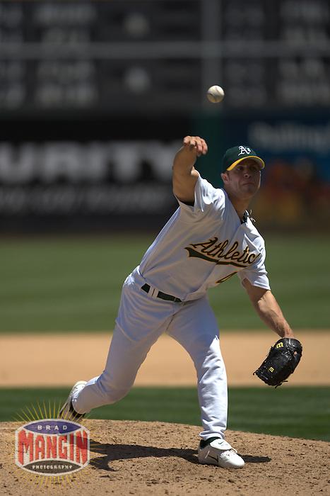 Tim Hudson. Baseball: Toronto Blue Jays vs Oakland Athletics. Oakland, CA 7/20/2004 MANDATORY CREDIT: Brad Mangin