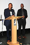 LOS ANGELES - JAN 28: Eric Kabera, Ntare Guma Mbaho Mwine at the 30th Anniversary of 'We Are The World' at The GRAMMY Museum on January 28, 2015 in Los Angeles, California