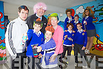 MAD HAIR DAY: Pupils form CBS Primary school, Tralee launching Mad Hair Day for the Make-A-Wish Foundation. Pictured were: Darren Burns, Dylan Burns, Devon Burns, Gearoid Fitzgerald, Denis Coleman (Principal), Denise Burns, Odhran Liston, Patrick Boyle, Harry O'Callaghan and Michelle Hrachovinavi.