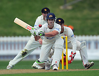 Volts batsman Neil Broom. Plunket Shield cricket - Wellington Firebirds v Otago Volts day one at Allied Nationwide Finance Basin Reserve, Wellington. Tuesday, 23 November 2010. Photo: Dave Lintott / lintottphoto.co.nz