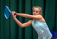 Wateringen, The Netherlands, December 4,  2019, De Rhijenhof , NOJK 14 and18 years, Evi Roobol (NED)<br /> Photo: www.tennisimages.com/Henk Koster