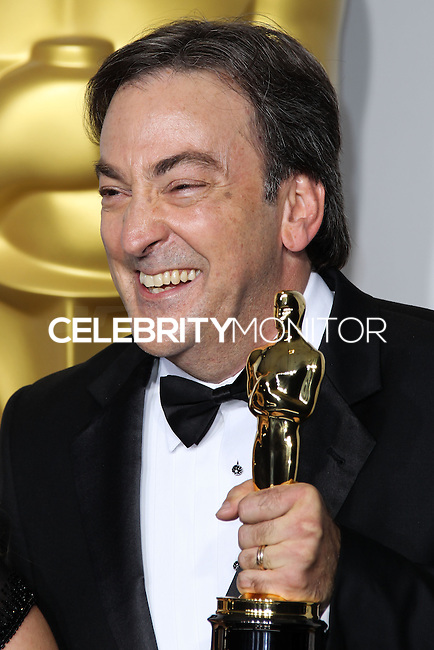 HOLLYWOOD, LOS ANGELES, CA, USA - MARCH 02: Peter Del Vecho at the 86th Annual Academy Awards - Press Room held at Dolby Theatre on March 2, 2014 in Hollywood, Los Angeles, California, United States. (Photo by Xavier Collin/Celebrity Monitor)