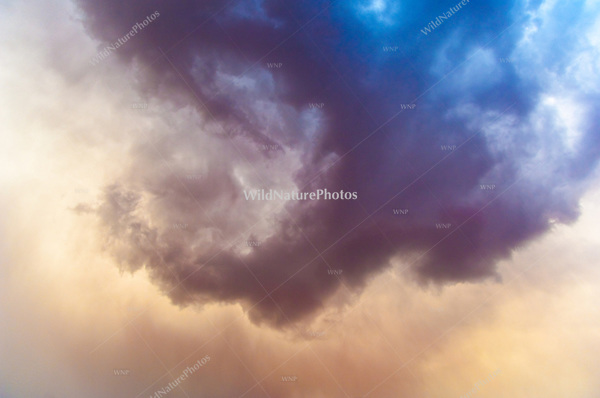 Vortex of Clouds during a Monsoon Storm