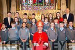 Kenmare Confirmation on Tuesday 27th in Holy Cross Church, Kenmare. <br /> Bishop - Ray Browne <br /> Teacher - Ronan Hussey