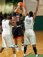 April 9, 2011 - Hampton, VA. USA;  Isaac Cohen participates in the 2011 Elite Youth Basketball League at the Boo Williams Sports Complex. Photo/Andrew Shurtleff