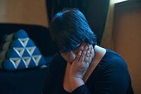 In der Nacht zum 24. Oktober 2010 wurde der 21jaehrige Kamal Kilade im Leipziger &quot;Mueller Park&quot; von den Neonazis Marcus E. und Daniel K. ermordet. Markus E. wurde zu 13 Jahren Haft und Sicherheitsverwahrung verurteilt. Daniel K. wurde zu 3 Jahren Haft verurteilt.<br /> Fuer die Mutter von Kamal ist eine Welt zusammengebrochen und sie kommt auch ueber 1 Jahr nach der Tat noch nicht damit zurecht. Ihren juengsten Sohn laesst sie aus Angst kaum vor die Tuer und die Familie ist zerbrochen.<br /> 20.2.2012, Leipzig<br /> Copyright: Christian-Ditsch.de<br /> [Inhaltsveraendernde Manipulation des Fotos nur nach ausdruecklicher Genehmigung des Fotografen. Vereinbarungen ueber Abtretung von Persoenlichkeitsrechten/Model Release der abgebildeten Person/Personen liegen nicht vor. NO MODEL RELEASE! Nur fuer Redaktionelle Zwecke. Don't publish without copyright Christian-Ditsch.de, Veroeffentlichung nur mit Fotografennennung, sowie gegen Honorar, MwSt. und Beleg. Konto: I N G - D i B a, IBAN DE58500105175400192269, BIC INGDDEFFXXX, Kontakt: post@christian-ditsch.de<br /> Bei der Bearbeitung der Dateiinformationen darf die Urheberkennzeichnung in den EXIF- und  IPTC-Daten nicht entfernt werden, diese sind in digitalen Medien nach &sect;95c UrhG rechtlich geschuetzt. Der Urhebervermerk wird gemaess &sect;13 UrhG verlangt.]