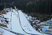 12th January 2018, Val di Fiemme, Fiemme Valley, Italy; FIS Nordic Combined World Cup, Mens Gundersen; Jumping hill