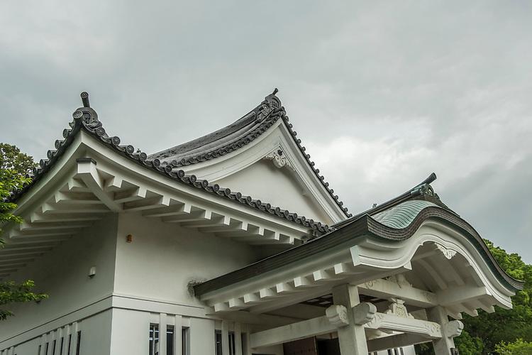 Obi Castle, in Obi city in Miyazaki Prefecture, Kyushu, dates originally from the mid-15th century.