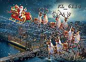 Interlitho-Simonetta, CHRISTMAS SANTA, SNOWMAN, WEIHNACHTSMÄNNER, SCHNEEMÄNNER, PAPÁ NOEL, MUÑECOS DE NIEVE, paintings+++++,santa village,Lonon,house of parliament,KL6118,#x# ,puzzle