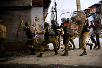 Srinagar conflict, Kashmir, India