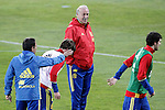 Spain's coach Vicente del Bosque during training session. March 21,2016. (ALTERPHOTOS/Acero)