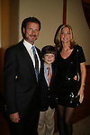 James, Kassie DePaiva & son JQ at the 16th Annual Feast with Famous Faces to benefit the League for the Hard of Hearing on October 27, 2008 at Pier Sixty at Chelsea Piers, New York City, New York. (Photo by Sue Coflin/Max Photos)