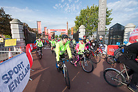 Picture by Allan McKenzie/SWpix.com - 24/09/2017 - Cycling - HSBC UK City Ride Liverpool - Albert Dock, Liverpool, England - HSBC UK, branding.