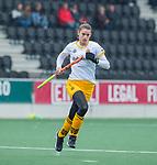 AMSTELVEEN - Lidewij Welten (DenBosch)   tijdens de hoofdklasse hockeywedstrijd dames,  Amsterdam-Den Bosch (1-1).   COPYRIGHT KOEN SUYK