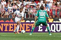 ATENÇÃO EDITOR: FOTO EMBARGADA PARA VEÍCULOS INTERNACIONAIS SÃO PAULO,SP,06 OUTUBRO 2012 - CAMPEONATO BRASILEIRO - SÃO PAULO x PALMEIRAS - Lucas jogador do São Paulo  durante partida São Paulo x Palmeiras  válido pela 28º rodada do Campeonato Brasileiro no Estádio Cicero Pompeu de Toledo  (Morumbi), na região sul da capital paulista na tarde deste sabado (06). (FOTO: ALE VIANNA -BRAZIL PHOTO PRESS).