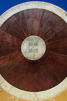 Asie/Inde/Rajasthan/Jaipur: L'observatoire 1727 - Détail cadran solaire