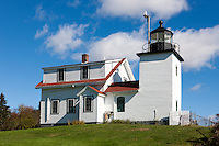 Fort Point Light in Stockton Springs, Maine.