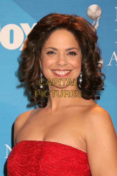 SOLEDAD O'BRIEN.38th Annual NAACP Image Awards at the Shrine Auditorium - Press Room, Los Angeles, California, USA, .2 March 2007..portrait headshot red dress  strapless .CAP/ADM/BP.©Byron Purvis/AdMedia/Capital Pictures.