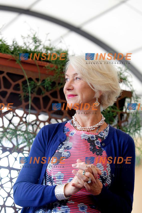Helen Mirren <br /> Roma 02-10-2015 Hotel Bernini. Woman in Gold Photocall.<br /> Photo Samantha Zucchi Insidefoto