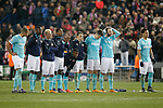 PSV Eindhoven's players during UEFA Champions League match. March 15,2016. (ALTERPHOTOS/Acero)