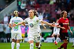 01.05.2019, RheinEnergie Stadion , Köln, GER, 1.FBL, Borussia Dortmund vs FC Schalke 04, DFB REGULATIONS PROHIBIT ANY USE OF PHOTOGRAPHS AS IMAGE SEQUENCES AND/OR QUASI-VIDEO<br /> <br /> im Bild | picture shows:<br /> Ewa Pajor (VfL Wolfsburg #17) jubelt über ihren Treffer zum 1:0, <br /> <br /> Foto © nordphoto / Rauch