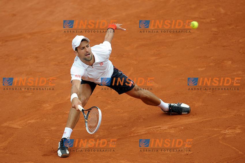 Novak Djokovic Serbia.Parigi 5/6/2012 Roland Garros.Quarti di Finale Tennis Grande Slam.Foto Insidefoto / JB Autissier / Panoramic.Italy Only