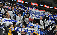 Leicester City fans pay their respects to Vichai Srivaddhanaprabha<br /> <br /> Photographer Kevin Barnes/CameraSport<br /> <br /> The Premier League -  Cardiff City v Leicester City - Saturday 3rd November 2018 - Cardiff City Stadium - Cardiff<br /> <br /> World Copyright © 2018 CameraSport. All rights reserved. 43 Linden Ave. Countesthorpe. Leicester. England. LE8 5PG - Tel: +44 (0) 116 277 4147 - admin@camerasport.com - www.camerasport.com