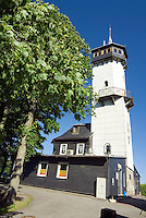 Oberweissbach, National Park Thueringer Wald, Thueringen, Germany, June 2009. The Froebelturm, Frobel Tower. Many hiking trails such as the famous Rennsteig and the Goldpfad cross the thuringia forest. Photo by Frits Meyst/Adventure4ever.com