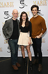 Christopher Gurr, Tiler Peck and Kyle Harris attends the Sneak Peek Presentation for 'Marie, Dancing Still - A New Musical'  at Church of Saint Paul the Apostle in Manhattan on March 4, 2019 in New York City.
