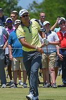 Hideki Matsuyama (JPN) watches his tee shot on 1 during round 2 of the AT&amp;T Byron Nelson, Trinity Forest Golf Club, at Dallas, Texas, USA. 5/18/2018.<br /> Picture: Golffile | Ken Murray<br /> <br /> <br /> All photo usage must carry mandatory copyright credit (&copy; Golffile | Ken Murray)