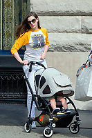 www.acepixs.com<br /> <br /> June 26 2017, New York City<br /> <br /> Actress Anne Hathaway walks in Soho with her husband Adam Shulman and her son Jonathan Shulman on June 26 2017 in New York City<br /> <br /> By Line: Curtis Means/ACE Pictures<br /> <br /> <br /> ACE Pictures Inc<br /> Tel: 6467670430<br /> Email: info@acepixs.com<br /> www.acepixs.com