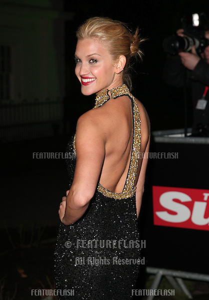 Ashley Roberts arriving for The Sun Military Awards, at The Imperial War Museum, London. 06/12/2012 Picture by: Alexandra Glen / Featureflash