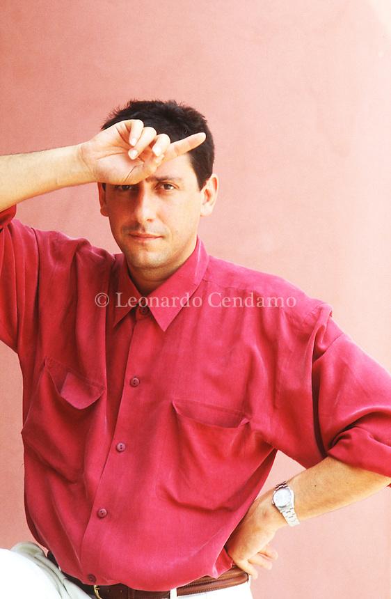 Sergio Castellitto (Roma, 18 agosto 1953) è un attore, regista e sceneggiatore italiano. Venezia settembre 1991. Festival Internazionale del Cinema di Venezia. © Leonardo Cendamo