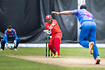 Moner Mohammad Ahmed of HKI United bats during the Hong Kong T20 Blitz match between Kowloon Cantons and HKI United at Tin Kwong Road Recreation Ground on March 11, 2017 in Hong Kong, Hong Kong. Photo by Chris Wong / Power Sport Images