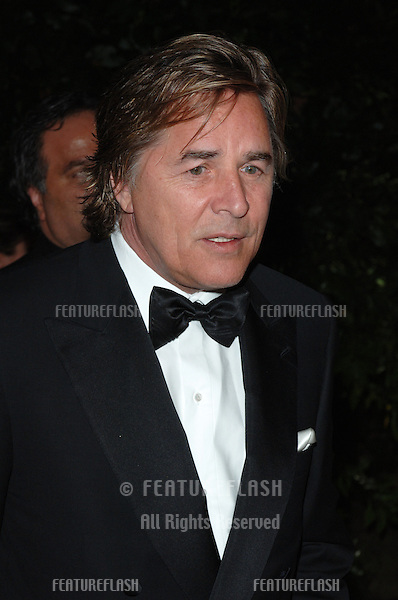 Actor DON JOHNSON at the amfAR Cinema Against AIDS Gala at the Moulin de Mougins restaurant in the South of France. Tha Gala is one of the main events at the 58th Annual Film Festival de Cannes..May 19, 2005 Cannes, France..© 2005 Paul Smith / Featureflash